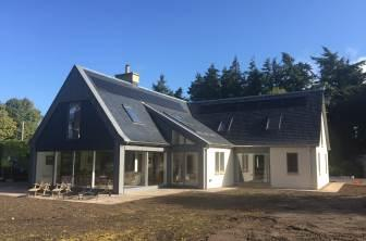 New House Built in Forteviot, Perthshire