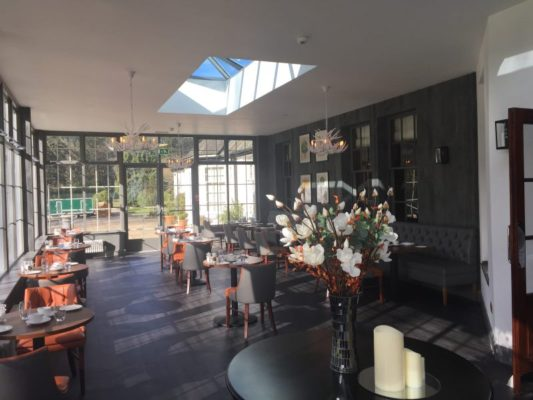 New dining room at Dunkeld House Hotel