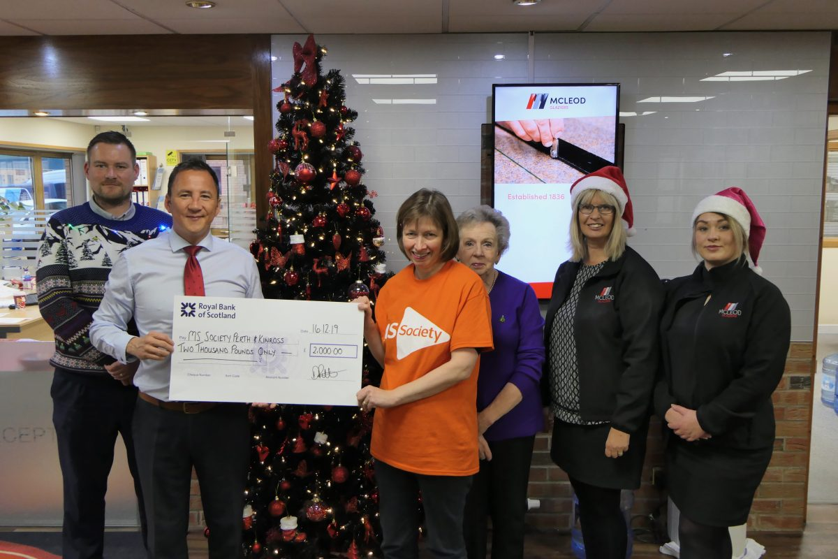 £2,000 raised for MS Society