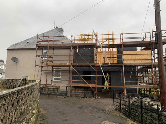 Meldrum House extension in Kinross