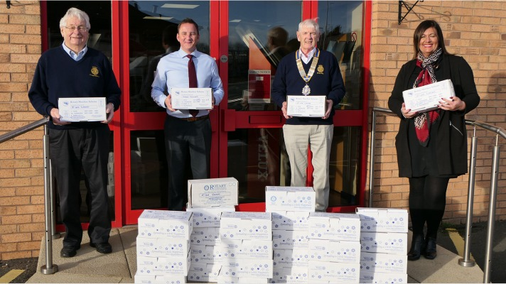Rotary Shoebox donation