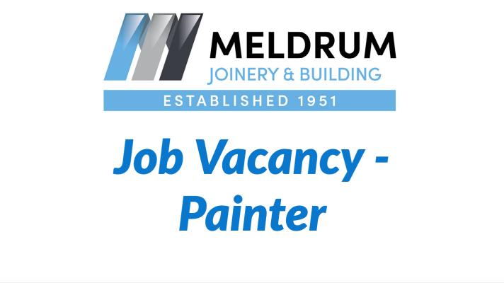 Painter job vacancy